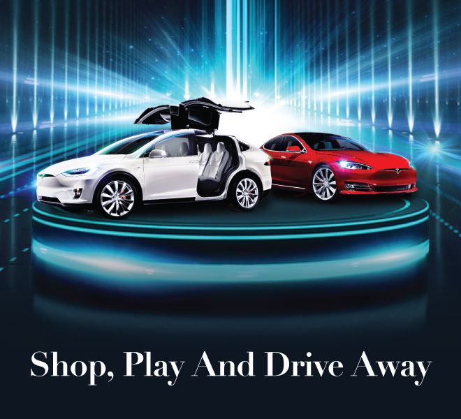 Shop, Play And Drive Away