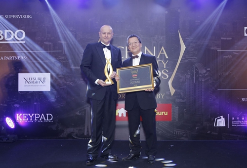 The Parisian Macao Scoops 'Best Hotel Development'