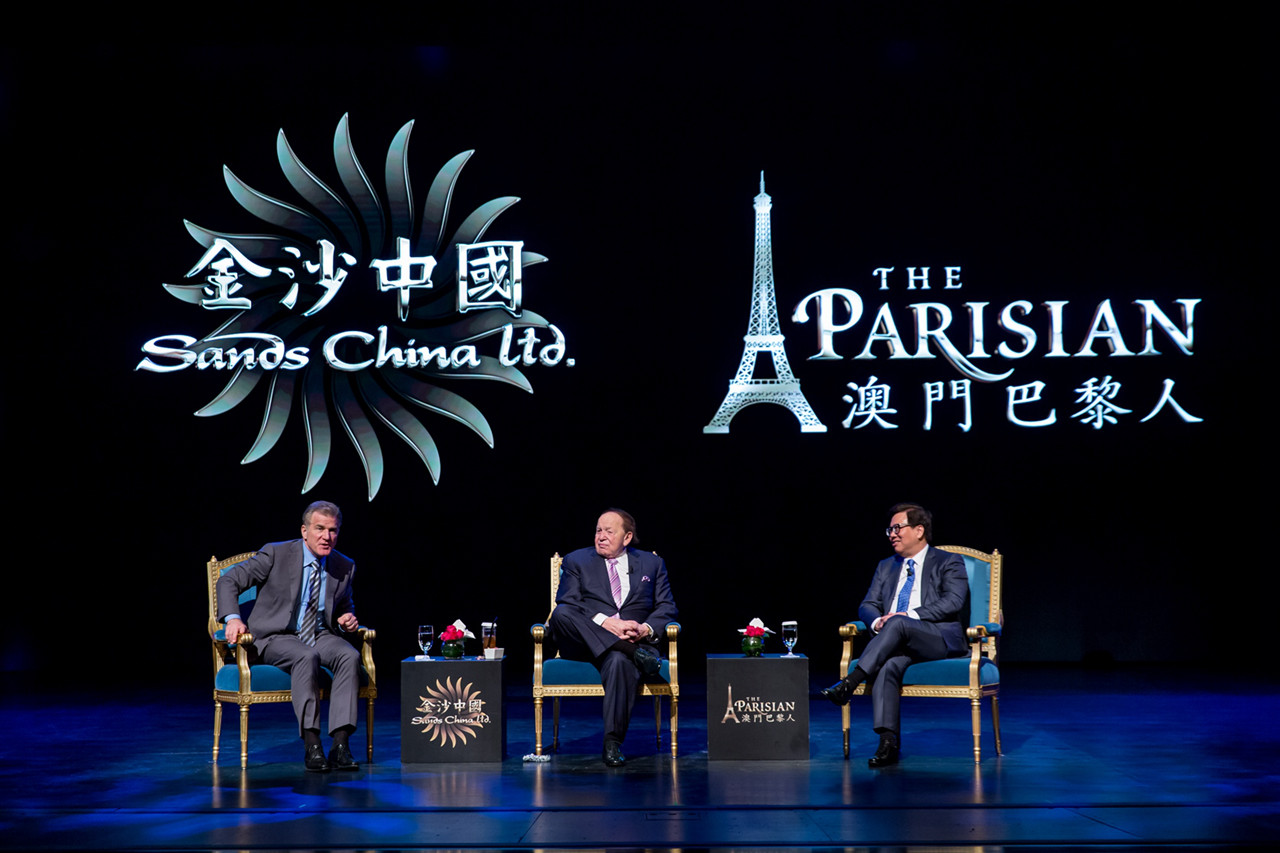 Sands Celebrate Grand Opening of The Parisian Macao