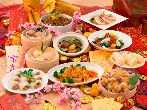 Golden Court CNY Dishes