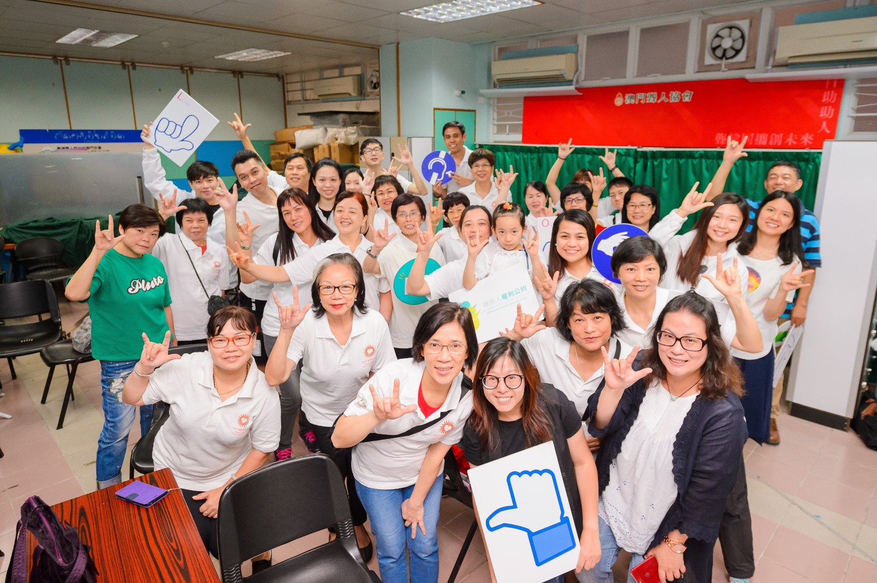 Sands China Care Ambassadors Learn More About the Hard of Hearing