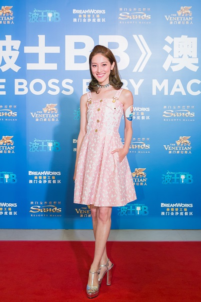 Grace Chan_The Boss Baby Venetian Premiere