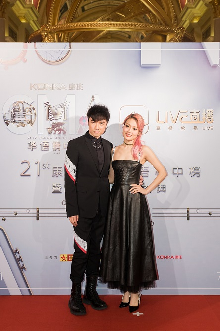Leo Ku and Joey Yung