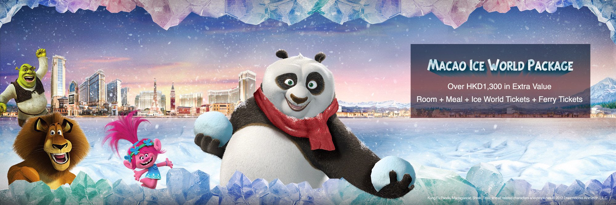 Macao Ice World Package