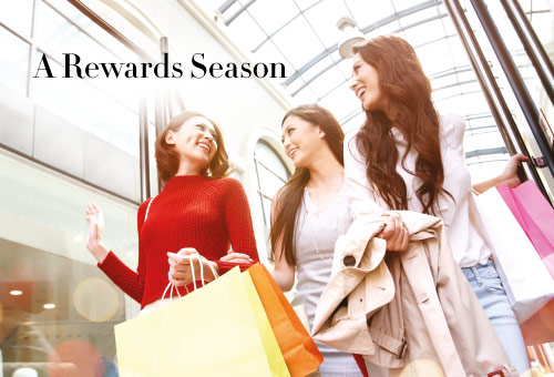 Spend More and Earn More with 'A Rewards Season'  at Sands Shoppes Cotai Strip Macao