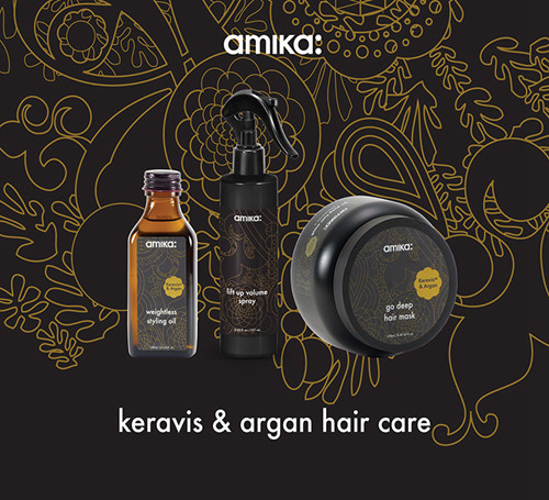Keravis & Argan Hair care