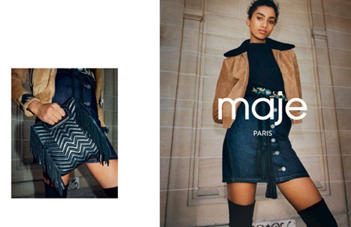 Maje 2016 Fall / Winter Campaign